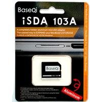 BASEQI Aluminum MicroSD Card Adapter Reader103A For Macbook Air 13 Macbook Pro