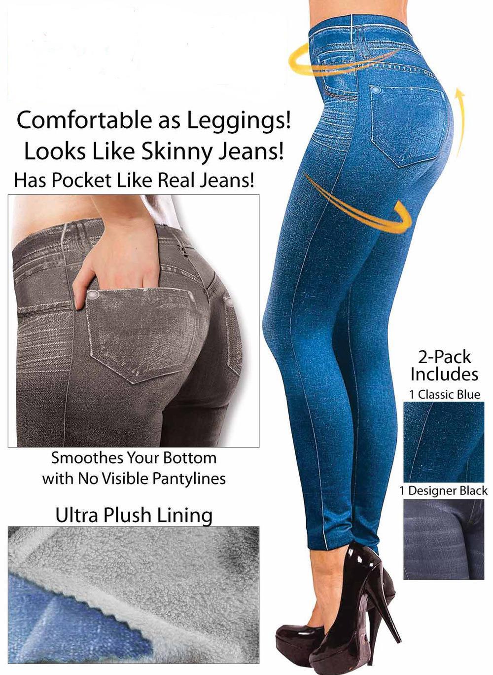 1d66c9cc11adff 2019 Imitation Cowboy Slim Leggings 2018 New Fashion Leggings For ...