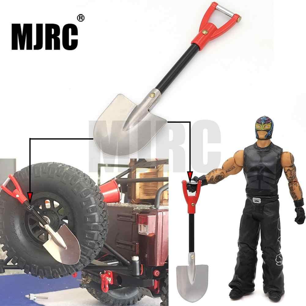 RC Rock Crawler 1:10 Aksesoris Logam Sekop untuk Tamiya CC01 Axial SCX10 RC4WD D90 D110 RC Mendaki Truk Mobil Dekoratif alat