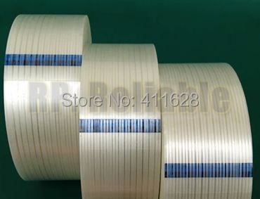 1x 30mm*55M 3M Strong Tensile Strength Adhesive Fiber Tape, for Heavy Box Pack, Wood, Thin Metal Panel, Home Appliance Fasten