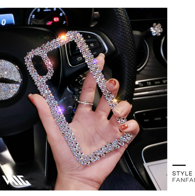 For Samsung Galaxy Phone Case Cover Rhinestone