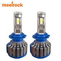 Meetrock H4 LED H7 H8 H11 H1 70w 7000lm Car Light Automobile Headlight Auto Fog Bulb