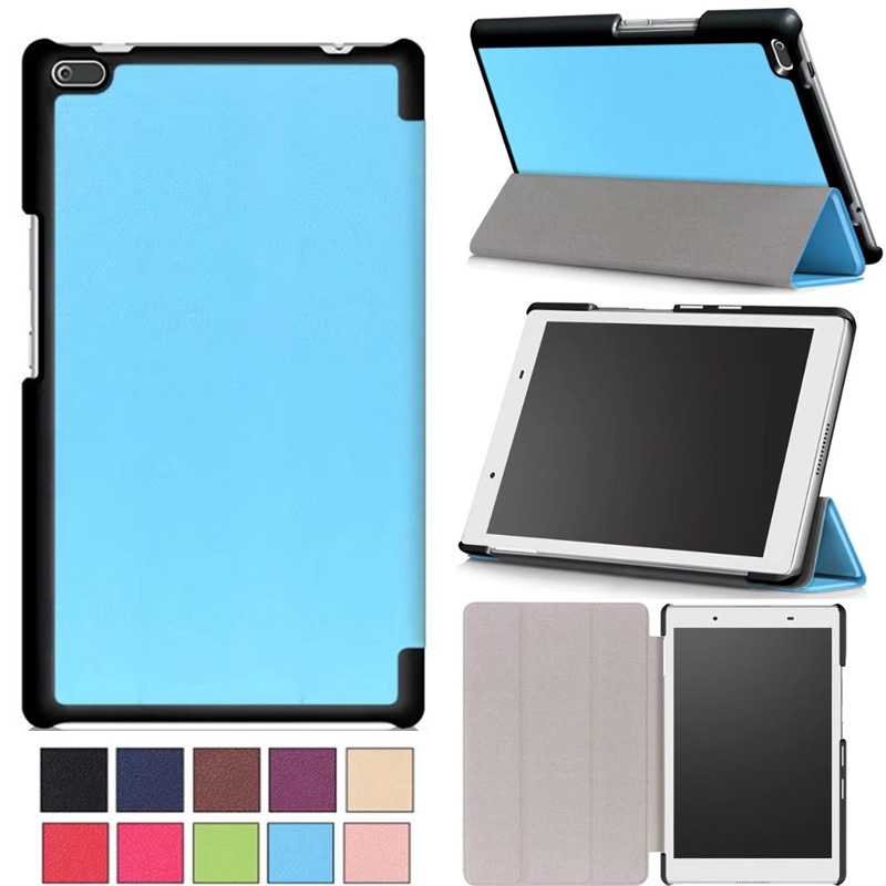 Case For Lenovo Tab 4 8, TB-8504x Leather case smart Cover for Lenovo TAB4 8 TB-8504F TB-8504 TB-8504N tablet Flip Case Cover cover case for lenovo tab4 8 tb 8504x protective cover for lenovo tab 4 8 tb 8504f tb 8504 tb 8504n tablet leather cases covers