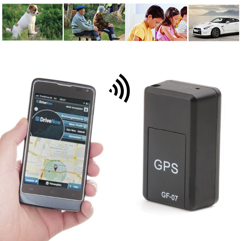 GF-07 Mini GPS Tracker Tracking Device Real-time Locator Magnetic Enhanced Locator title=