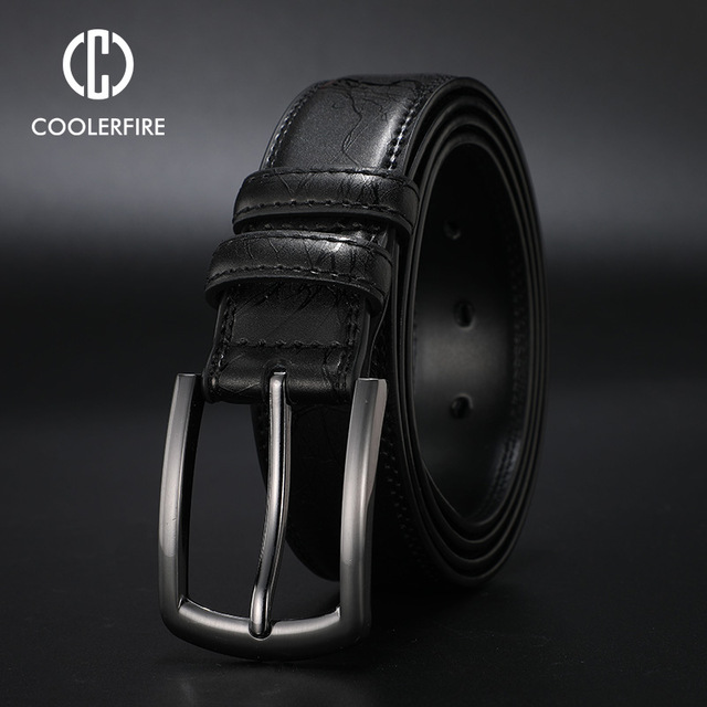 Business Leather Belt 4