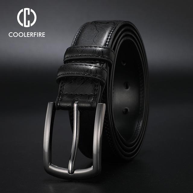 Men's Business Dress Leather Belt