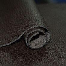 Cera caballo cuero negro grueso 1,6 1,4mm primera capa cuero genuino materia prima cuero diy viajero