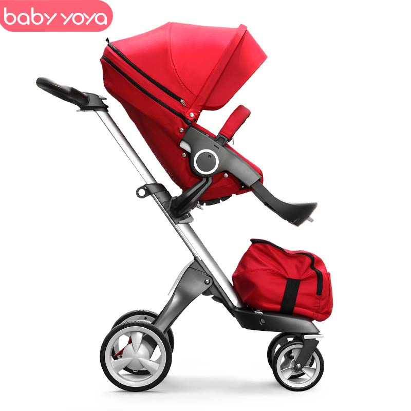 Babyyoya Stroller Luxury Multi-Function Folding Baby Carriage Can Sit Can Lie Baby Trolley High Landscape Baby StrollerBabyyoya Stroller Luxury Multi-Function Folding Baby Carriage Can Sit Can Lie Baby Trolley High Landscape Baby Stroller