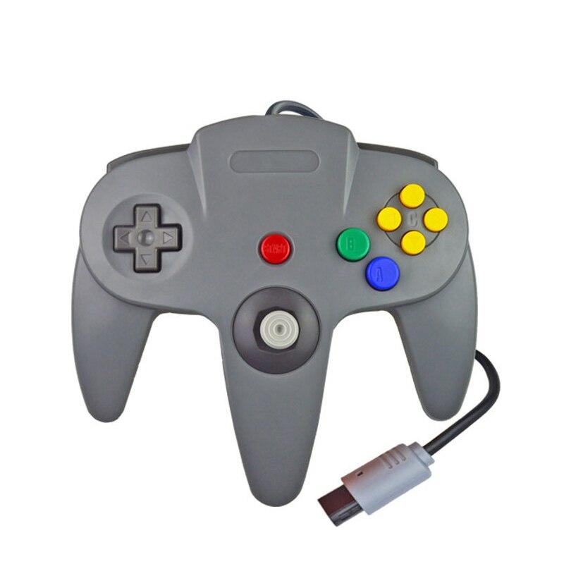Gamepad com fio controlador joypad para gamecube joystick acessórios do jogo para nintend n64 para computador controlador