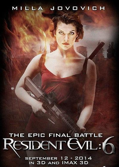 Free Shipping12 X18 Inch Resident Evil The Final Chapter 1 Movie