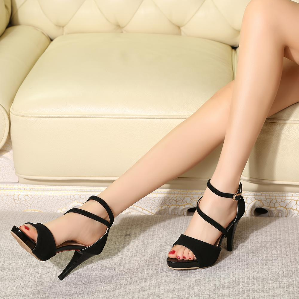 Handmade fashion high heel sandals in Ankle Boots from Shoes
