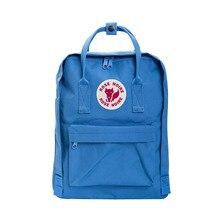 2016 New Backpack School Bag Girls double shoulder  Canvas Lovers Leisure Travel Bag Fox Backpacks M005