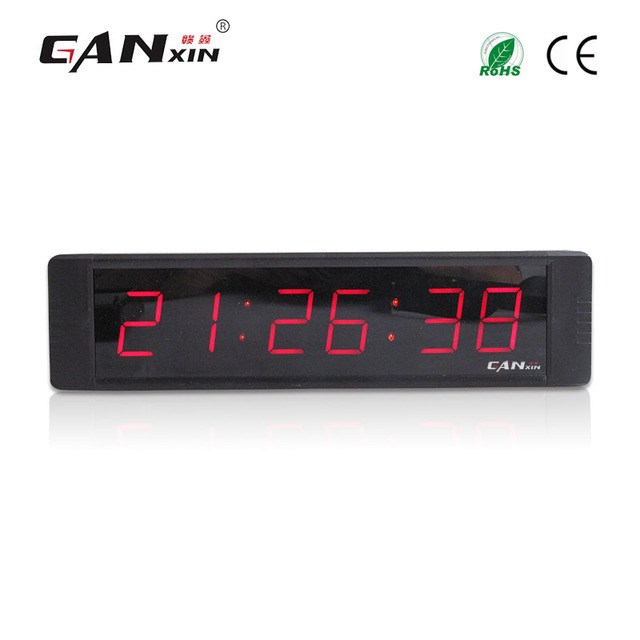 "[Ganxin]1"" 7 segment led digital table clock"