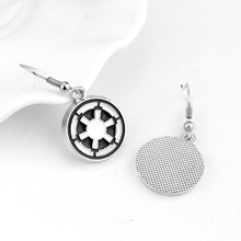 Star Wars Galactic Empire Logo Earrings