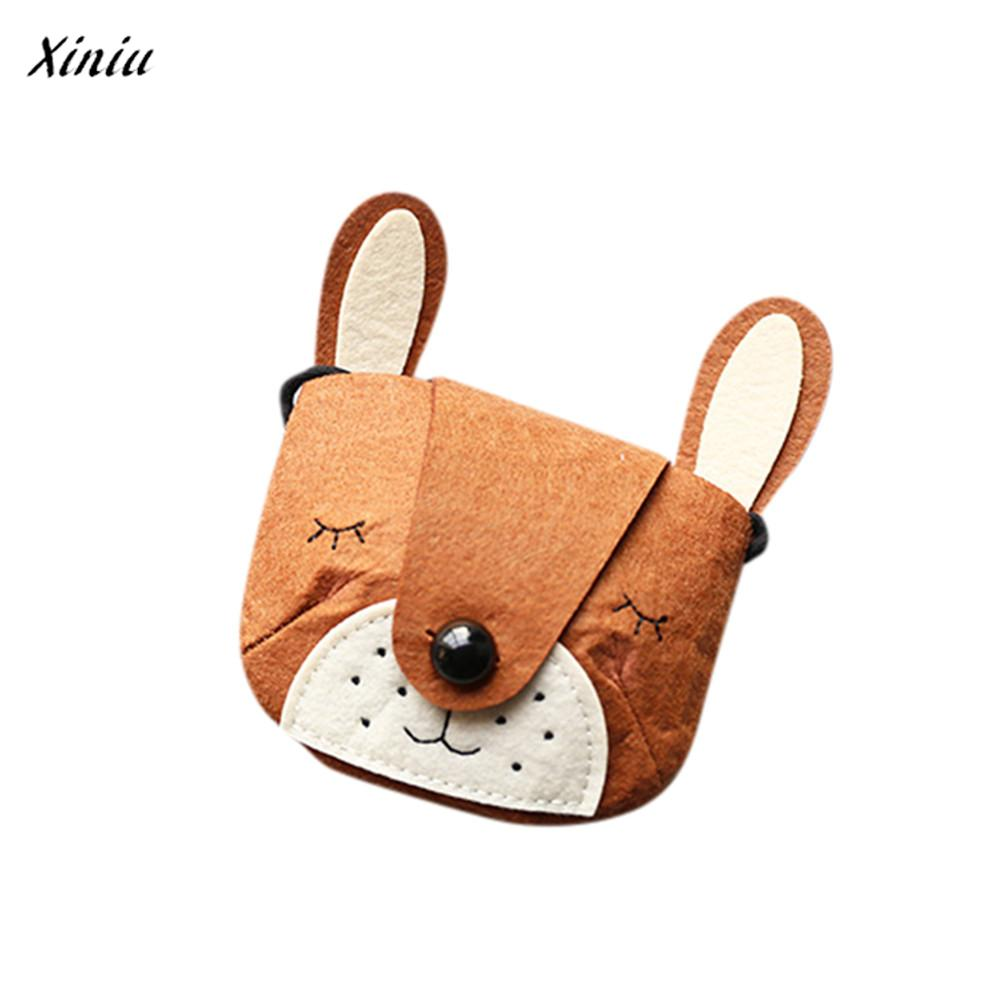 xiniu Baby Girls Fox Walley Coin Purse Bag Fashion Cute Storage Bag Single Shoulder Bag wallets for children