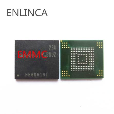 1 pces emmc memória flash nand com firmware para tab t311 t211 emmc