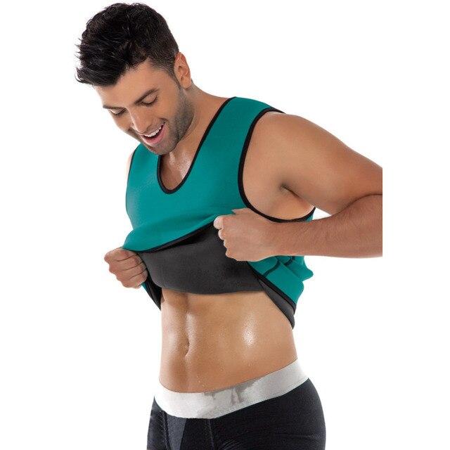 682205ccf4150 Men Weight Loss Corset Tummy Slimming Spandex Waist Cincher Belly Girdle Body  Shaper Vest Corset mens