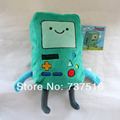 "Rare Adventure Time 8"" BMO Beemo Soft Stuffed Plush Doll Green kids doll & baby Toys for children"