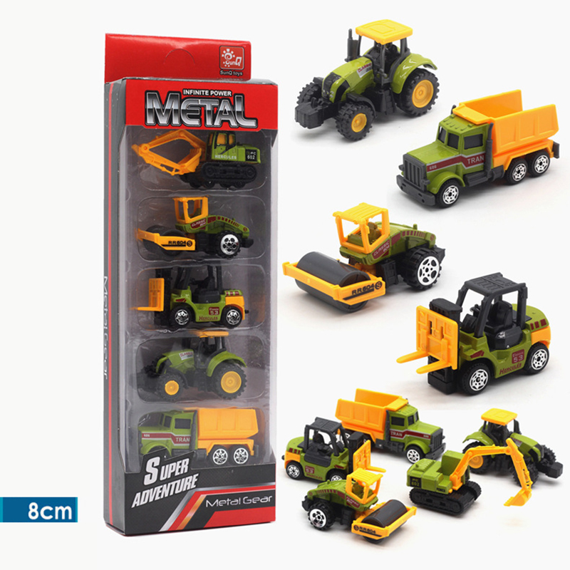 Diecast Toy Vehicles Car 1:64 Racing Farm Ambulance Green Black White Green Military Diecast Toys For Children Model Car Tractor