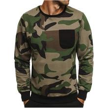 купить Men's new hoodie men's digital camouflage fleece hip hop jersey fashion men's hoodie brand autumn cotton pullover male Hoody по цене 1066.85 рублей