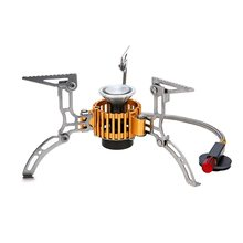Tomshoo Newest 2800W Outdoor Burning Stove Camping Gas Lightweight Portable Oven Furnace With Carring Case