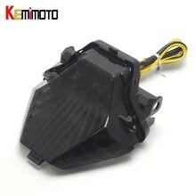 KEMiMOTO For YAMAHA MT-07 MT-25 MT-03 YZF R25 R3 Integrated LED Tail Light Turn signal Blinker MT07 FZ07 2014 2015 2016 2017