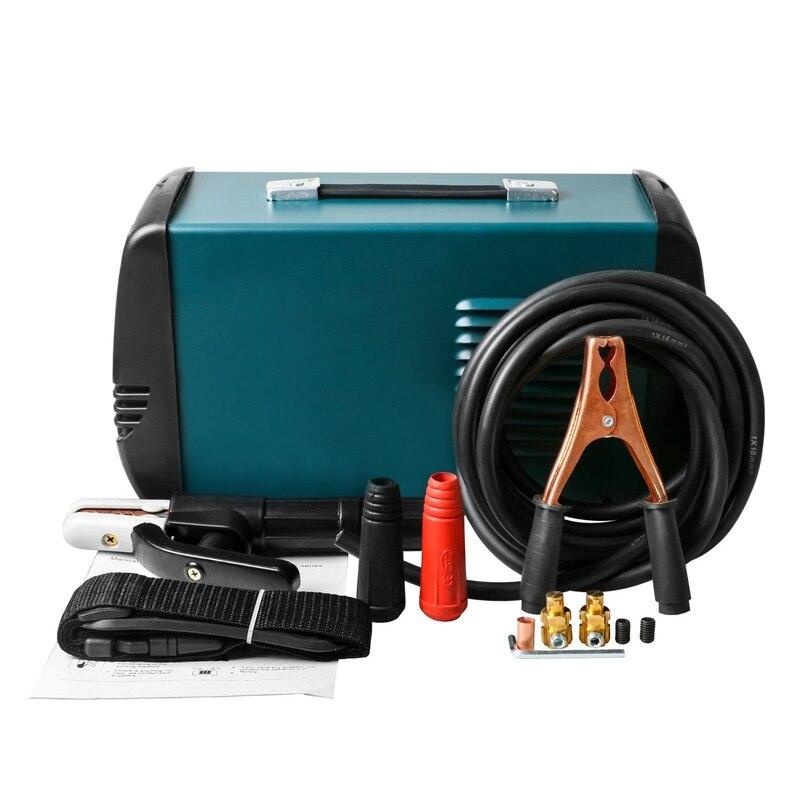 220 V дуговой сварочный аппарат Инвертор DC Электрическое Сварочное оборудование шлем для сварки mma IGBT 200A 225A DC сварочные работы