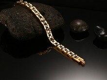 De calidad superior De Cerámica de tungsteno de acero negro hombre pulsera de la Energía del holograma pulseras pulseras para hombres