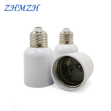 E27 do E40 oprawka konwertera E27 gniazdo konwersji zmodyfikowana podstawa lampy E40 adapter lampy Flameresistant akcesoria oświetleniowe tanie tanio Oprawka converter E27-E40 Metal+Plastic E27 To E40 Lamp Holder