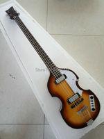 الشحن المجاني الغيتار باس hofner الكمان bb2 مصنع التصدير المباشر معيار المنتج التبغ خمر sunburst