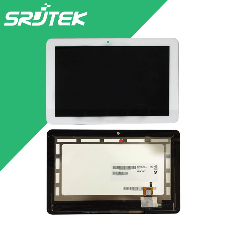 Srjek 10.1 New White For Acer Iconia A3-a20 A3 A20 LCD Screen Display Touch Screen Digitizer Sensor Tablet PC Assembly 10 1inch tablet pc for acer iconia tab 10 a3 a40 touch screen lcd display digitizer sensor replacement parts