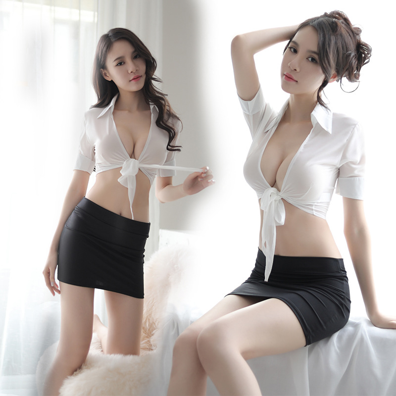 Fun Underwear, Women's Perspective, Cardigan Uniforms, Seduction, Sexy Bags, Hip Skirts, Secretary Suits, Foreign Trade