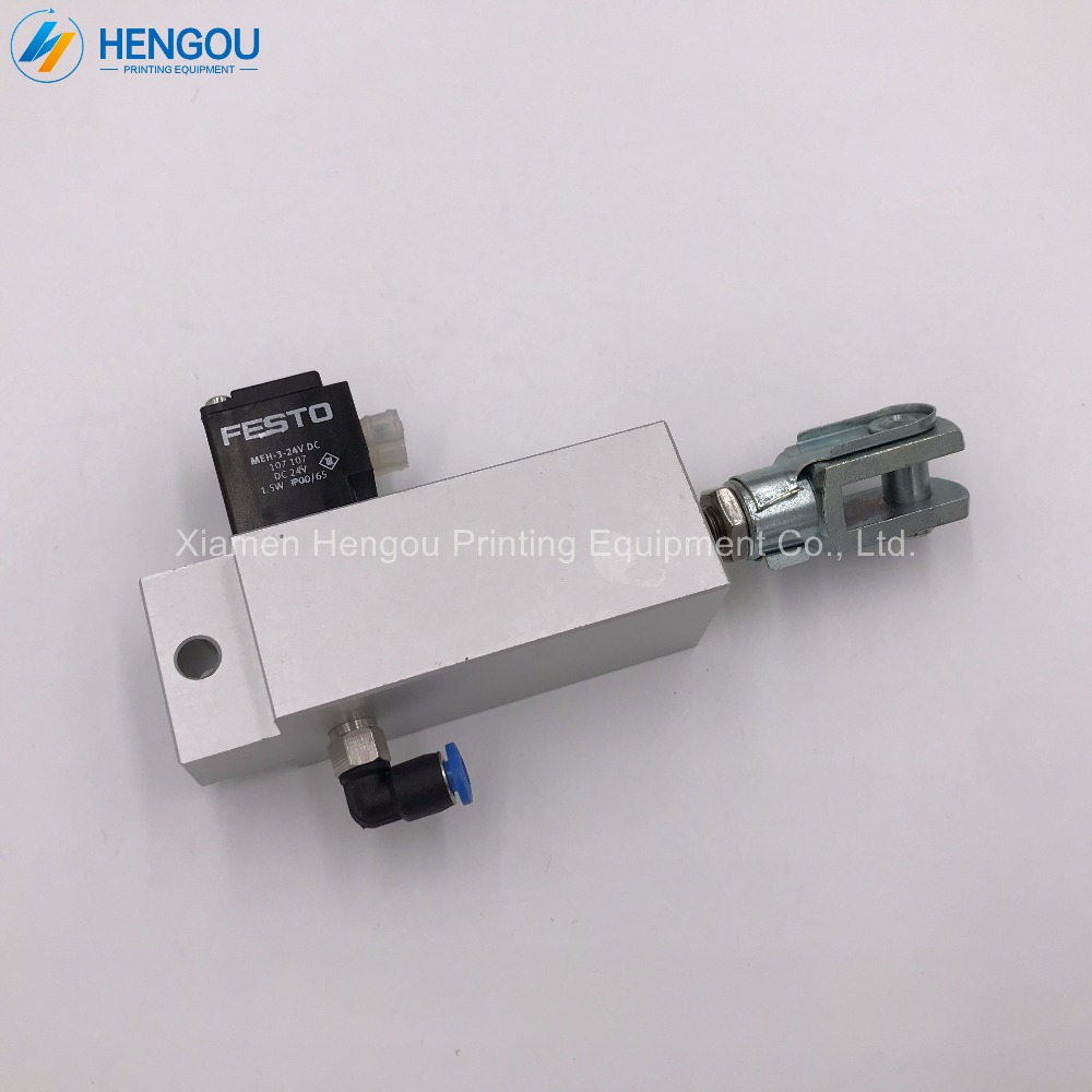 2 Pieces China Post Free Shipping Heidelberg FESTO Solenoid valve ESM-25-30-P-SA 92.184.1011/A for SM74 PM74 SM102 CD102 2 pieces festo cylinder valve for pm74 sm74 heidelberg 61 184 1131
