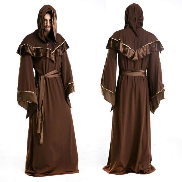 halloween costumes for men adult europe religious male priest halloween costumes men wizard clothing