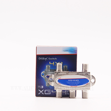 Ventas de la fábrica de alta calidad ds04c 4X1 41 seccionador interruptor de DiSEqC 2 sintonizador de TV vía satélite receptor de satélite FTA diseqc 4×1