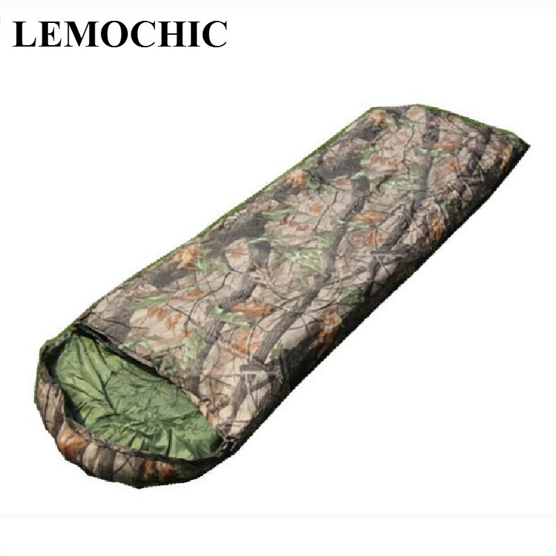 High quality camping portable emergency compact outdoor travel Camouflage military Tactical waterproof army sleeping bag