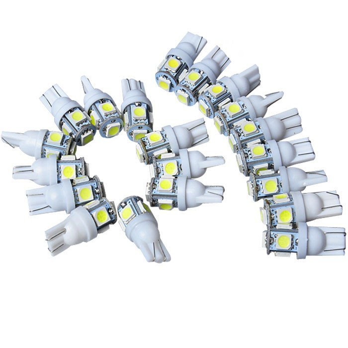 20Pcs-Lot-Colorful-T10-5-SMD-5050-LED-194-168-W5W-Car-Side-Wedge-Tail-Light (1)