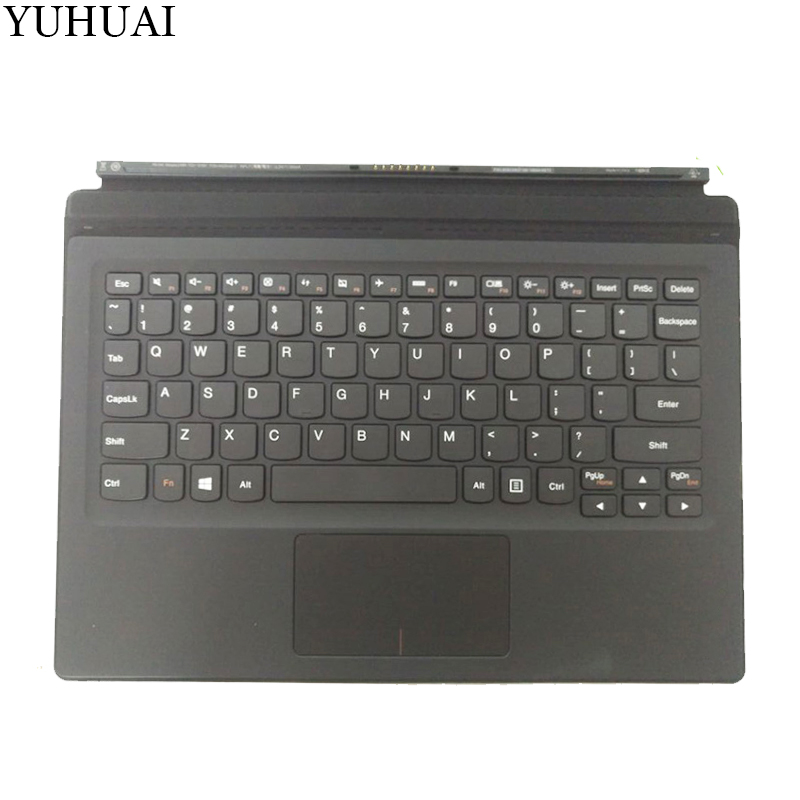 New US keyboard for LENOVO IdeaPad Miix700-12ISK Miix 700-12ISK US KEYBOARD with palmrest new original for lenovo miix 720 folio keyboard miix 5 pro docking with backlight us english palmrest cover