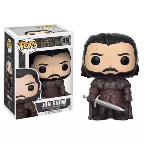 FUNKO POP Song Of Ice And Fire Game Of Thrones Action Figure boy toys birthday Gift with retail box 2
