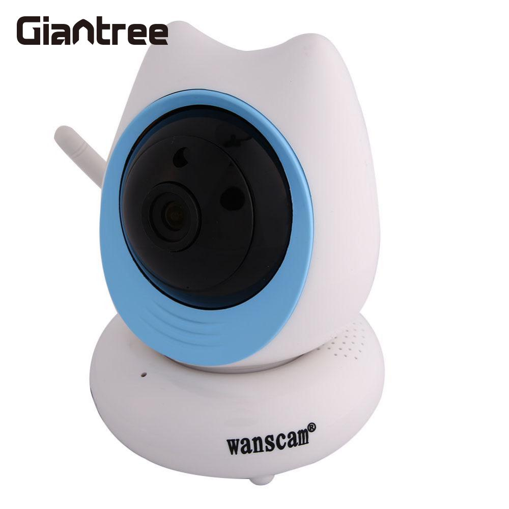 wanscam Original WANSCAM Home Security System WiFi IP Camera 720p Motion Detection Rotating Camera Monitor US Plug Baby Monitor
