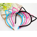 EVER FAIRY Girls Cat Hairband 6 Colors Stylish Women Headband Sexy Self Photo Prop Hair Band Accessories Children Cat Headwear