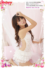Sexy dress Lace Backless party Halter Collar Style dress evening Sex Erotic Clothes Sexy party dress Bodycon dress