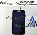 For lenovo A859 LCD screen display With Repair Tools + Touch Screen Digitizer Replacement For Lenovo A859 Mobile Phone In stock