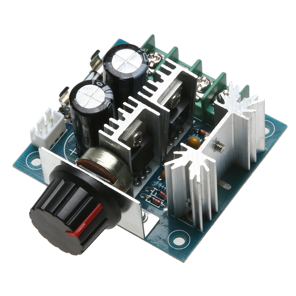 DC Motor Speed Governor PWM Controller DC 12V 24V 30V 40V 13KHZ Auto ...