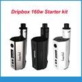 Original kangertech Dripbox starter kit 160 W com Subdrip Dripbox 160 Subdrip 7 ml DIY RBA KangerTech Tanque cigarro Eletrônico