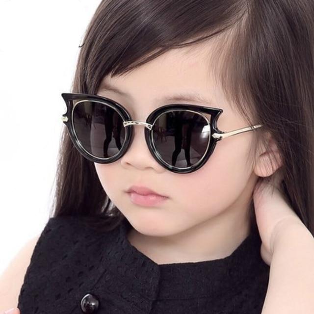 8e0369d9bbb7 High Quality Cool Uv400 Polarized Kids Sunglasses Girls Boys Suit For 4-12  Ages Children Car Box Free Send Cat Eye Sun Glasses