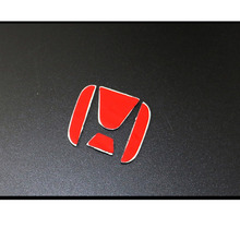 Teering Wheel Rhinestone Sticker, Logo Emblem Badge Decals For CR-V, Accord, Civic