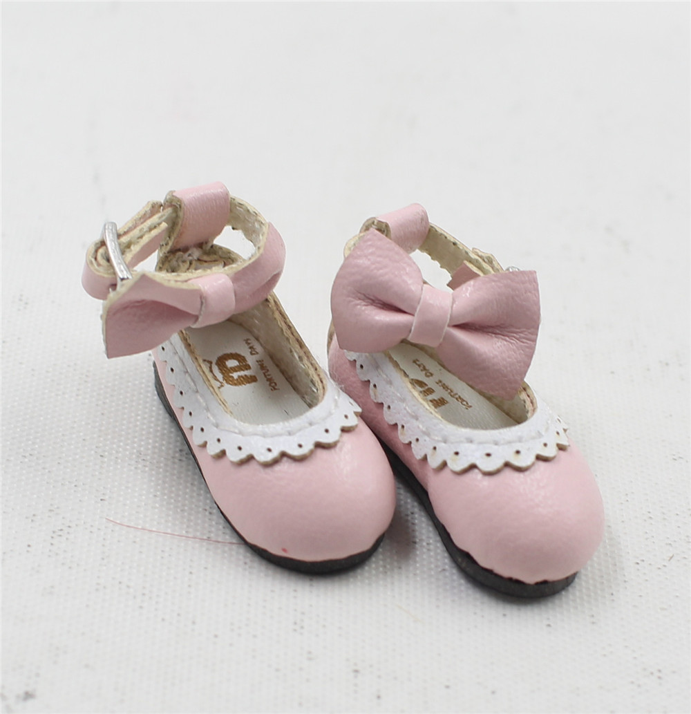 Neo Blythe Doll Designer Shoes with Bow 10