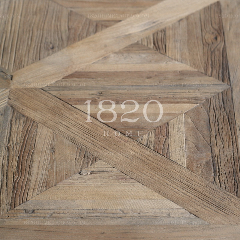 French Original Single Export Wood Furniture American French Country Style Mash Parquet Wood Coffee Table Coffee Table In Bar Tables From Furniture On