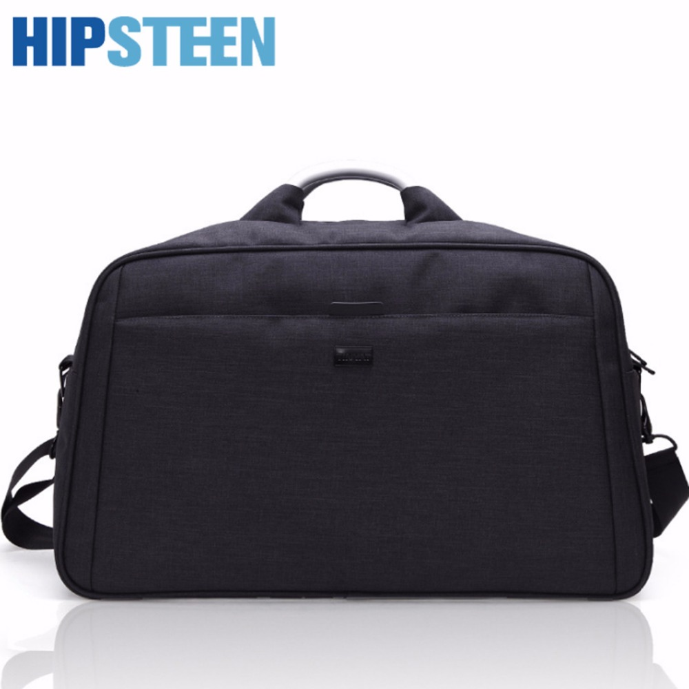 HIPSTEEN 2018 Men Travel Bags Big With Large Capacity Thicker Waterproof Business Handbag Storage Bag For Men Male Travel Hot